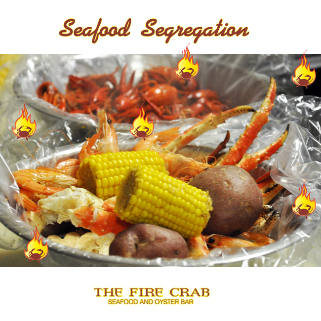 Seafood Segregation Shrimp Crawfish Crab Legs Garden Grove Orange County OC Fire Crab