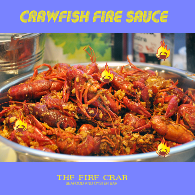 Orange County OC Crawfish Fire Sauce Garlic Orange County OC Fire Crab