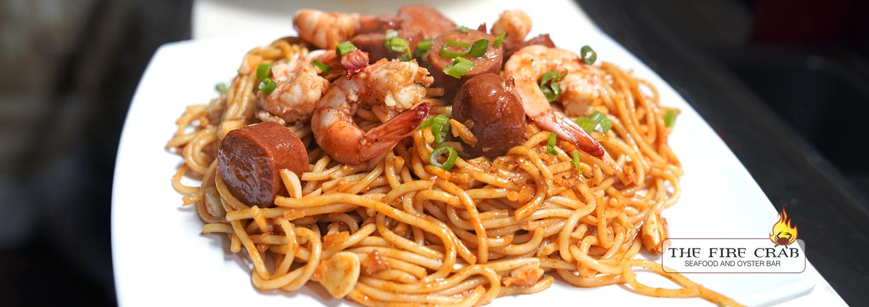 Orange County Cajun Crawfish Restaurant Live Seafood Garden Grove Cajun Garlic Noodles Shrimp Sausage