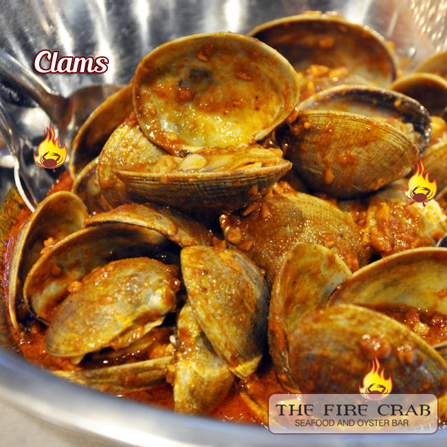 Cajun Clams Seafood Special Combo 3rd lb free Orange County Fire Crab OC
