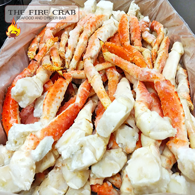 Crab Legs for Days Snow King Dip Cajun Sauce Orange County OC Fire Crab