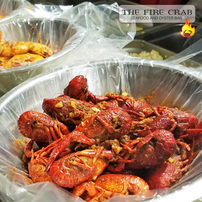 Live Crawfish Shrimp Cajun Combo Deal Special Discount Orange County OC Fire Crab