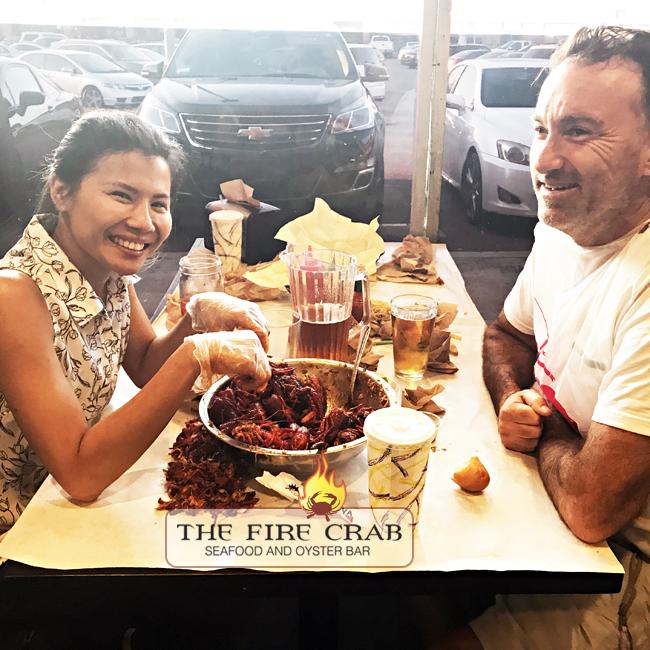 Date Night Orange County OC Fire Crab Crawfish Beer Cajun Combo Deal Free Seafood