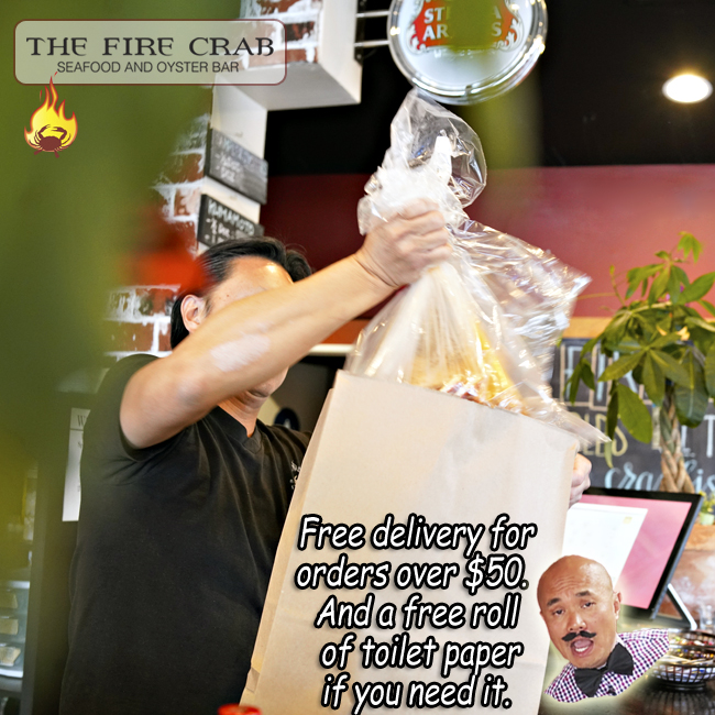 Orange County Garden Grove Crawfish Cajun Restaurant Free Delivery