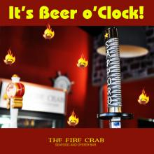Beer o'clock Sapporo Stella Korean Beers Cajun Seafood Combo Garden Grove Orange County OC Fire Crab