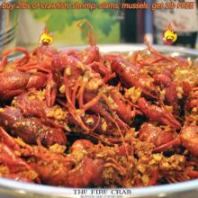 Crawfish Garden Grove Orange County OC Fire Crab Cajun Seafood Restaurant