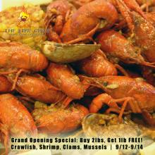 Crawfish Clams Mussels Shrimp Grand Opening Special Fire Crab Garden Grove OC