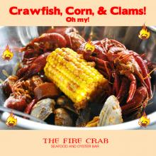 Crawfsh Corn Clams Cajun Combo Garden Grove Orange County OC Fire Crab