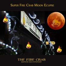 Supermoon Blood Moon Eclipse Orange County OC Garden Grove Fire Crab
