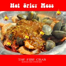 Hot Spicy Mess Cajun Restaurant Orange County OC Fire Crab Crawfish Shrimp Clams