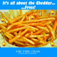 Cheddar Fries 7 Types Cajun Restaurant Orange County OC Fire Crab Garden Grove