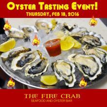 Oyster Tasting Event Orange County OC Garden Grove Kumamoto Shigoku Fire Crab