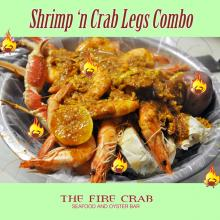 Shrimp King Snow Crab Legs Cajun Seafood Orange County OC Fire Crab