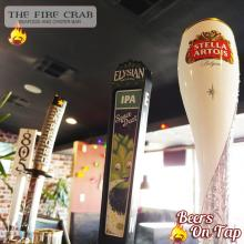 Stella Elysian IPA 805 Sapporo Beers on Tap Garden Grove Orange County Fire Crab OC