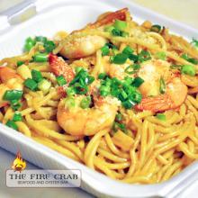 Cajun Garlic Noodles Shrimp To Go Orange County OC Garden Grove Fire Crab