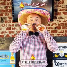 Cinco de Mayo $2 Corona Modelo Cajun Fish Shrimp Tacos Orange County OC Fire Crab