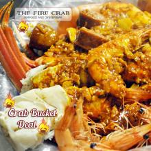 Crab Bucket Deal King Crab Legs Snow Crab Legs Cajun Shrimp Orange County OC Fire Crab