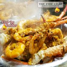 Snow King Crab Legs Combo Shrimp Cajun Seafood Garden Grove Orange County OC Fire Crab