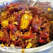 Crawfish Clams Cajun Grub Seafood Boil Orange County OC Fire Crab Garden Grrove