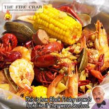 Live Crawfish Shrimp Clams Cajun Combo Seafood Garden Grove Orange County OC Fire Crab