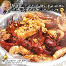 Cajun Seafood Combo Shrimp Mussels Crawfish Garden Grove Orange County OC Fire Crab