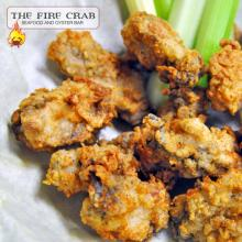 Deep Fried Oysters Battered Yummy Fresh Shucked Appetizer Cajun Orange County OC Fire Crab