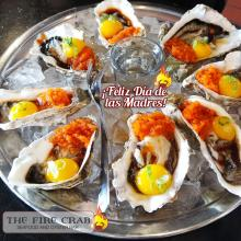 Feliz Dia De Las Madres Happy Mother's Day Oyster Shooters Orange County Cajun Fire Crab