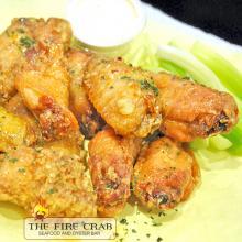 Fish Sauce Wings Cajun Appetizer Honey BBQ Fire Crab Garden Grove Orange County OC
