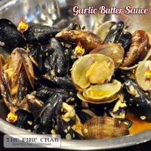 Garlic Butter Sauce Mussels Clams Cajun Orange County OC Fire Crab