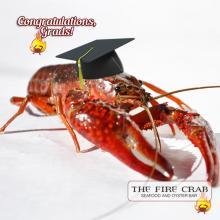 Graduation Party Large Gathering Celebration Garden Grove Orange County OC Fire Crab