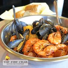 Mussels Shrimp Cajun Combo Seafood Dish Orange County Garden Grove OC Fire Crab