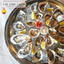 Fresh Shucked Oysters Selection Cajun Orange County OC Garden Grove Fire Crab