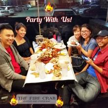 Party With Us Leave the Mess Large Party Friendly Seafood Combo Special Orange County OC Fire Crab