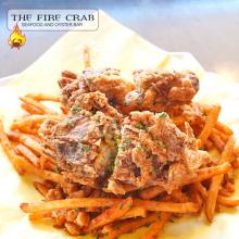 Soft Shell Crab Chips Cajun Garlic Fries Orange County OC Fire Crab